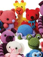 Amigurumi crochet animals yes!