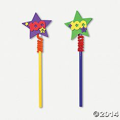 100th Day of School Pencil Topper Craft Kit