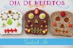 Día de los Muertos / Day of the Dead Sandwich Art