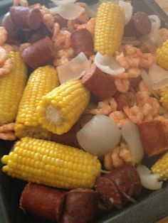 Southern Betties - Trisha Yearwood's Low Boil recipe.  Perfect for any dinner party!