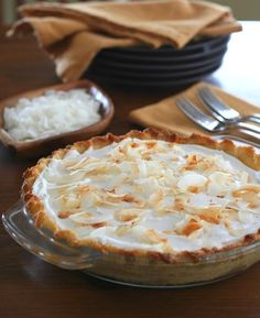 Low Carb Gluten-Free Coconut Cream Pie Recipe | All Day I Dream About Food