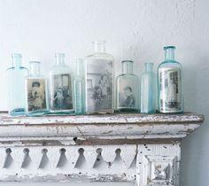 antique bottles...