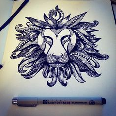 Amazing pen drawings