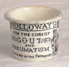 Old ointment pots, tiny fabulous things