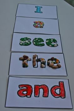 decorate sight words