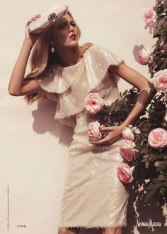 Neiman Marcus sequined ad! #fashion