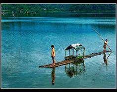 Situ Gede Lake - Tasikmalaya, West Java, Indonesia