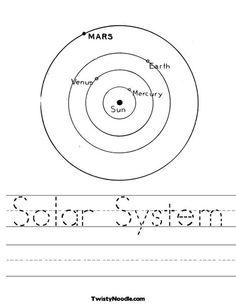 solar system on pinterest solar system worksheets and planets. Black Bedroom Furniture Sets. Home Design Ideas