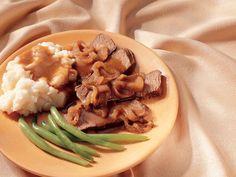 Slow Cooker Caramelized-Onion Pot Roast