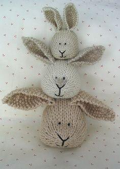 bunny totem pole