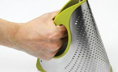 Simple Genius: A Bendable Cheese Grater That's A Cinch To Clean