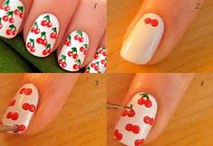 How to Cherry nails