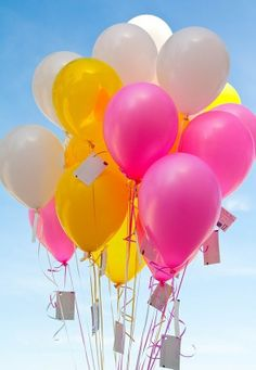 Balloons for you today