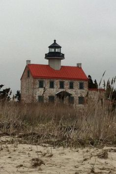 East Point Lighthouse  ~    The East Point Lighthouse was built in 1849 at the mouth of the Maurice River.   Heislerville, NJ