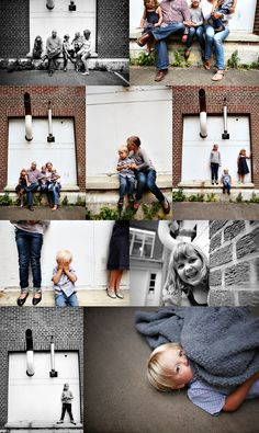 Urban Family photos by Pink Sugar photography. urban famili, family portraits, brick, famili portrait, famili photo