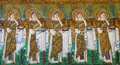 Procession of the Vestal Virgins Ravenna