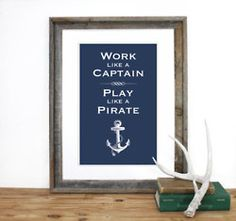 Work like an RA and play like a Pirate?
