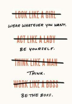 boss lady, like a boss, daughter, thought, word, girl power, the rules, inspiration quotes, live