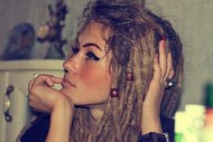 gorgeous. want dreads