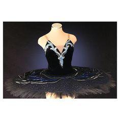 Ballet Tutu - Beautiful Classic black Swan Lake professional stage... ($620) ❤ liked on Polyvore beauti tutus, tutu inspir, tutu costum, ballet tutu