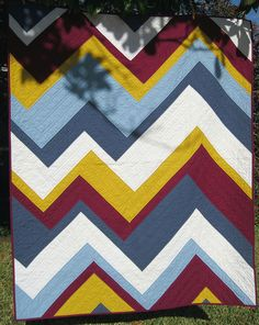 Rod's Quilt - Front by BGMom1, via Flickr