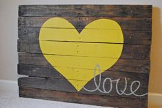 I love this reclaimed wood sign! Love it!! I think I need to make one!