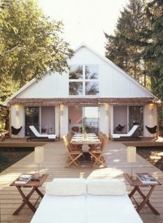 cabin, lake houses, cottag, outdoor living, dream, patio, deck, outdoor spaces, summer houses