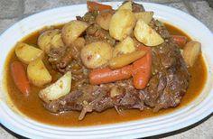 dinner, kitchens, crockpot roast, crock pot, food