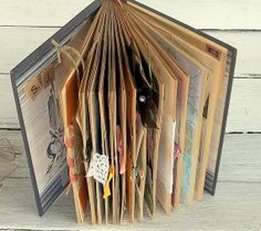 Wedding guest book alternative Bridal Reception Book by 0namesleft, $140.00
