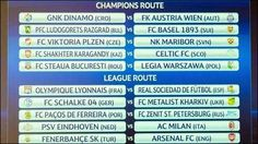 2013/2014 UEFA Champions League Play-off draw