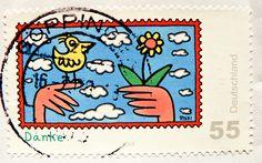 James Rizzi stamp.