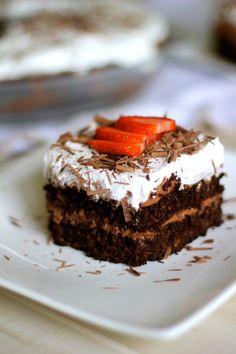 Sugar & Flour Free Chocolate Cake