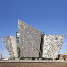 Titanic Visitors Centre  Belfast, Northern Ireland, UK
