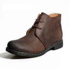 Genuine Leather Male Ankle Boots $99.99