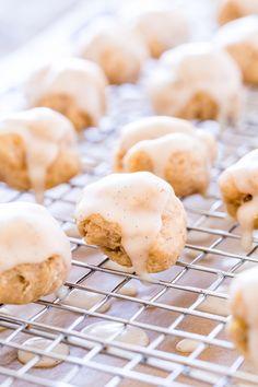 Vanilla Bean Glazed Banana Donut Holes. #Vegan #GlutenFree #SoyFree