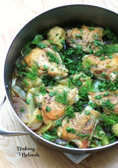 Chicken, Fennel and Artichoke s