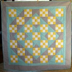 Baby Boy Quilt or Baby Girl Quilt Gray by SewAbundantly on Etsy, $185.00