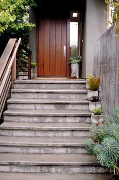 DIY: Concrete Block Planters : Remodelista