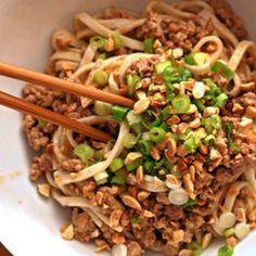 Rotisserie Chicken Peanut Noodles