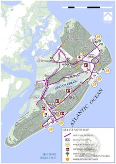 Rent a bike and enjoy trails near Sea Crest Surf and Racquet Club Hilton Head Island, SC Bike trails