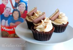 tagalong cupcakes from the culinary chronicles