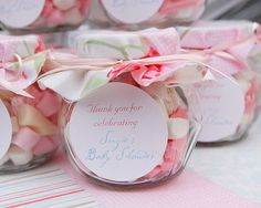 party favors, tea parti, gift, spice jars, baby shower favors, baby shower themes, bridal parties, babi shower, baby showers