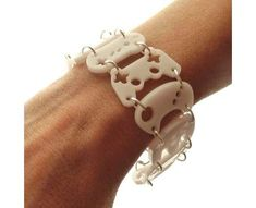 game controller bracelet...make out of shrinky dinks maybe?