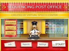 Sequencing Post Office. This is an awesome app — The Speech Bubble SLP