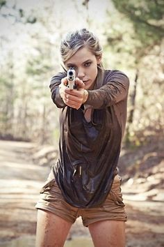"""""""First girl and guns i've seen where she has the right stance"""" - Stance is extremely important!"""