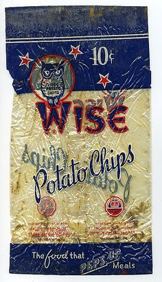 Wise Potato Chip bag by grickily, via Flickr #Chips #Dips #Salsa #Potato #Kettle #Corn #Rice
