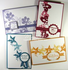 cards! Great set - simple stampin.