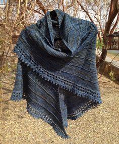 free knit shawl patterns -