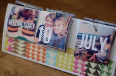 Creating Paper Dreams: DIY instagram calendar