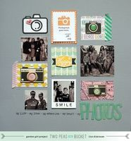 A Project by bluestardesign from our Scrapbooking Gallery originally submitted 05/01/13 at 09:28 AM idea, scrapbook inspir, pea, 1scrapbook layout, camera, lisa dickinson, stitch grid, disney scrapbook layouts, lifemi photo